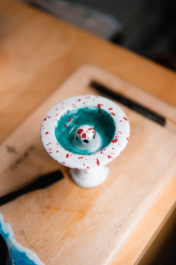 hookahSqueeze Cooling als Unterlage für Tabak im Saphire Squeeze No.9 im Colorway Bavarian Pink