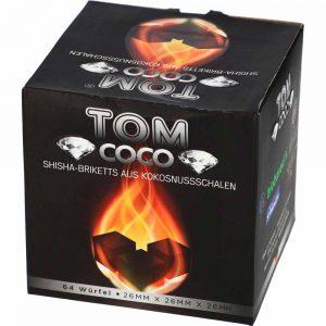 Shisha Kohle Tom Coco Diamond 26mm für Paste, Steine, Tabak